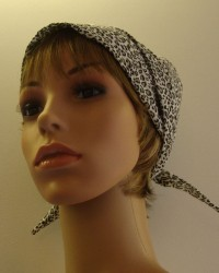 Shown under ready tied scarf. Colour Blonde brown mix.